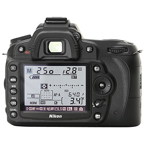"Buy Nikon D90 Digital SLR Camera with 18-105mm Lens, HD 720p, 12.3 MP, 3"" LCD Screen, Black Online at johnlewis.com"