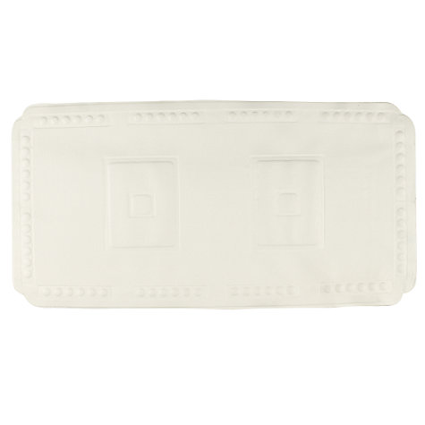Buy John Lewis Baby Bath Mat, White Online at johnlewis.com