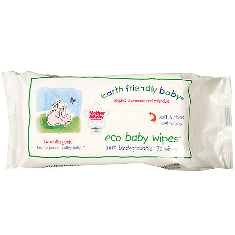 Buy Earth Friendly Baby Chamomile Baby Wipes Online at johnlewis.com