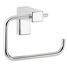 Buy John Lewis Square Toilet Roll Holder, Chrome Online at johnlewis.com