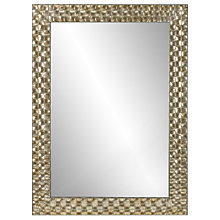 Buy John Lewis Mosaic Silver Wall Mirror, 106 x 75cm Online at johnlewis.com