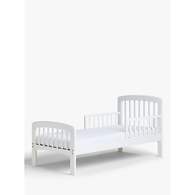 John Lewis Anna Junior and Toddler Bedstead, White