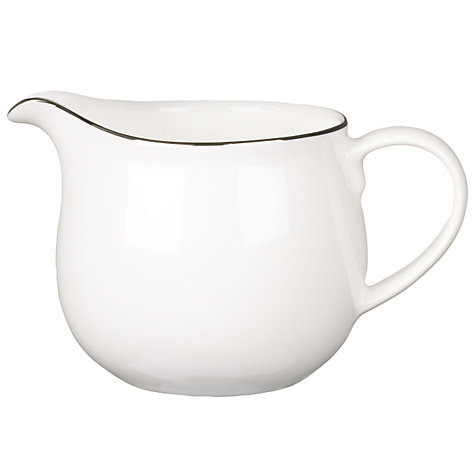 Buy Queensberry Hunt for John Lewis Platinum Cream Jug Online at johnlewis.com