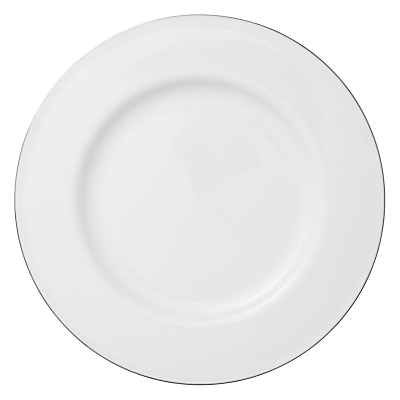 Queensberry Hunt for John Lewis Platinum Bone China Plates, White