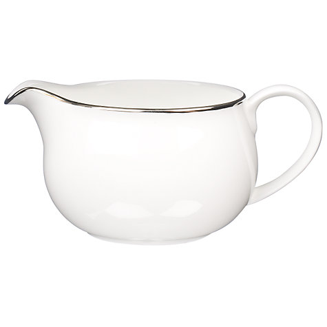 Buy Queensberry Hunt for John Lewis Platinum Sauce Jug Online at johnlewis.com