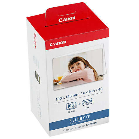 Buy Canon KP-108IN Print Pack Online at johnlewis.com