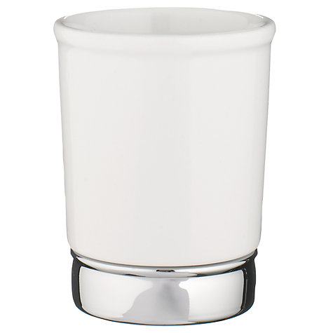Buy John Lewis York Tumbler, White Online at johnlewis.com