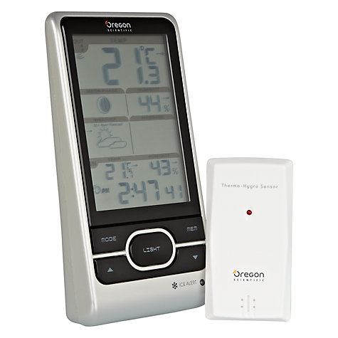 Buy Oregon Scientific Wireless Weather Station with Weather Alert Online at johnlewis.com