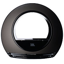 Buy JBL Radial iPod Speakers, Black Online at johnlewis.com