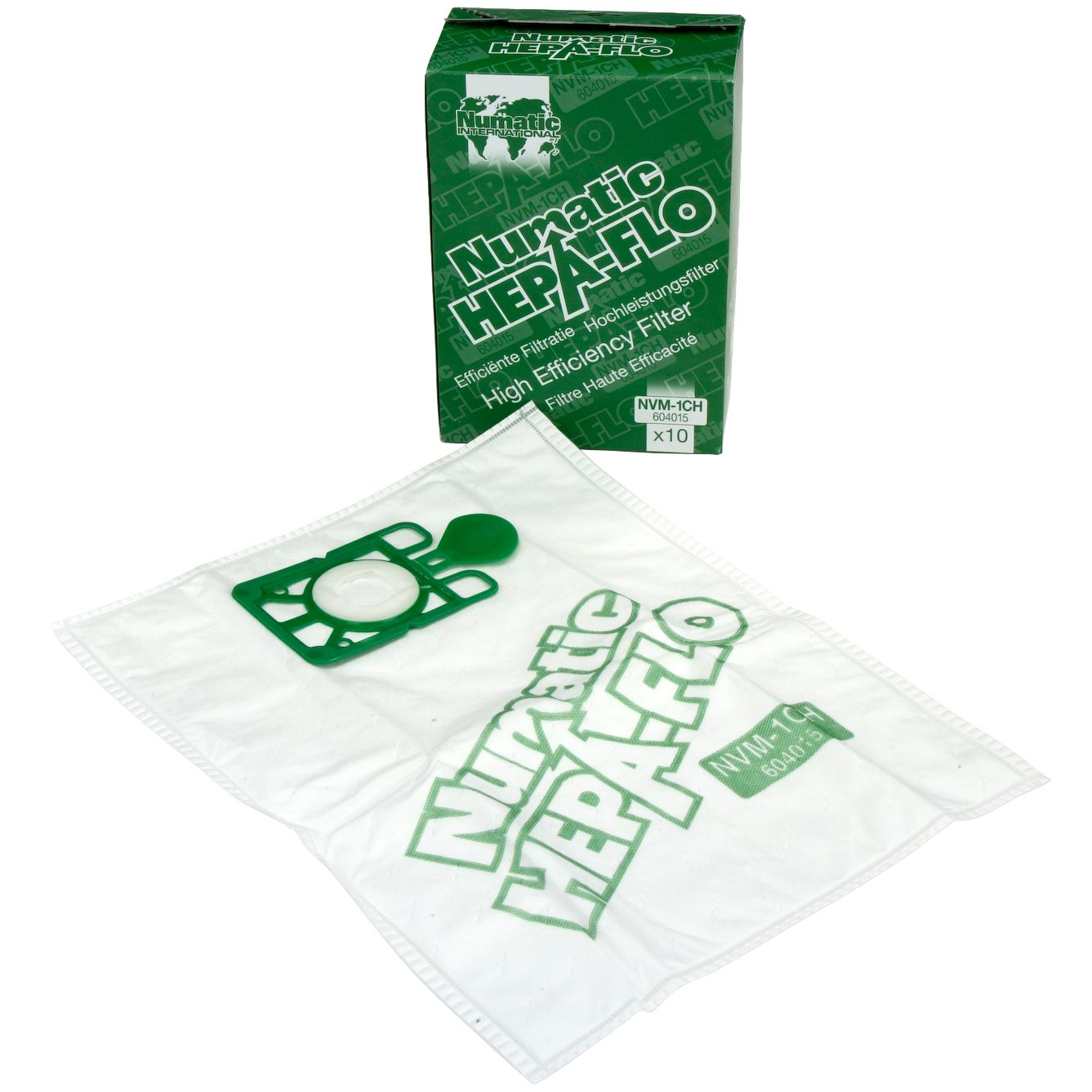 Numatic Henry HEPA Vacuum Cleaner Bags Pack of 10