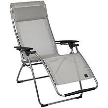 Buy Lafuma Futura Outdoor Relaxer Chair, Siegle, Extra Large Online at johnlewis.com