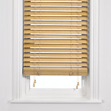 Buy John Lewis Wooden Venetian Blind, 50mm Online at johnlewis.com