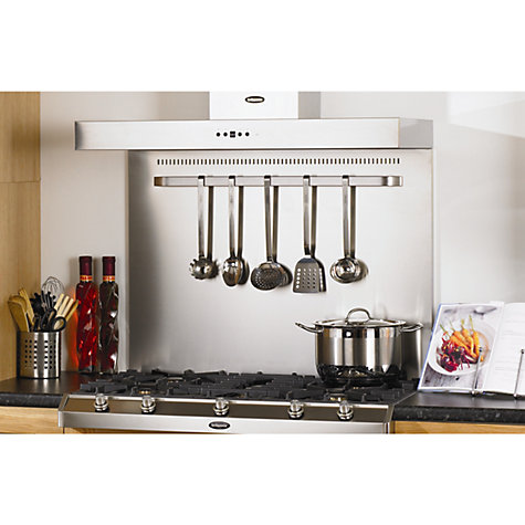 Buy Britannia BP/AP4 Cooker/Hob Back Panel, Stainless Steel Online at johnlewis.com