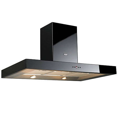Buy Britannia K7088A-11-K Chimney Cooker Hood, Black Online at johnlewis.com