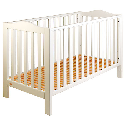 Buy John Lewis Mika Lotta Cot, White Online at johnlewis.com