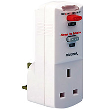 Buy John Lewis RCD Adapter Online at johnlewis.com
