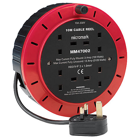 Buy John Lewis Extension Reel, 10M Online at johnlewis.com