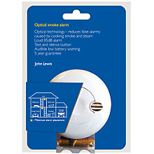 Buy John Lewis SA700JL Optical Smoke Alarm Online at johnlewis.com