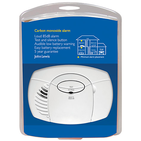 Buy John Lewis CO400 Carbon Monoxide Alarm Online at johnlewis.com