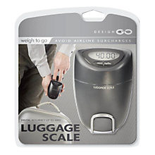 Buy Design Go Digital Luggage Scales Online at johnlewis.com