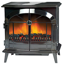 Buy Dimplex Fuel-Effect 'Stove' Fire, Stockbridge SKG20BL Online at johnlewis.com