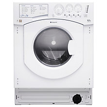 Buy Hotpoint BHWD129 Integrated Washer Dryer Online at johnlewis.com