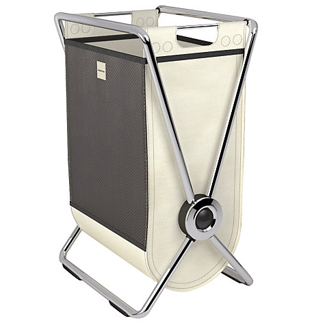 Buy simplehuman X-Frame Laundry Hamper, Chrome Steel Online at johnlewis.com