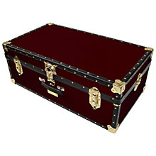 Buy John Lewis 121L Traditional Hand Trunk Online at johnlewis.com