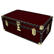 Buy John Lewis 159L Traditional Steamer Trunk Online at johnlewis.com