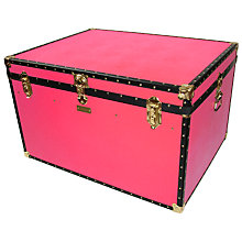 Buy John Lewis 460L Traditional Jumbo Trunk Online at johnlewis.com