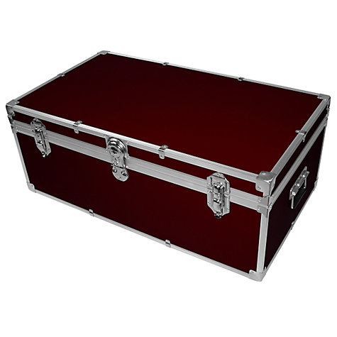Buy John Lewis 121L Fortified Hand Trunk Online at johnlewis.com