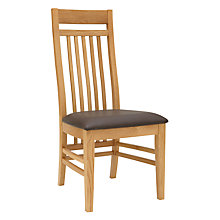 Buy John Lewis Burford Slatted Dining Chair Online at johnlewis.com
