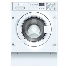 Buy Neff W5440X0GB Integrated Washing Machine, 7kg Load, A+ Energy Rating, 1400rpm Spin Online at johnlewis.com