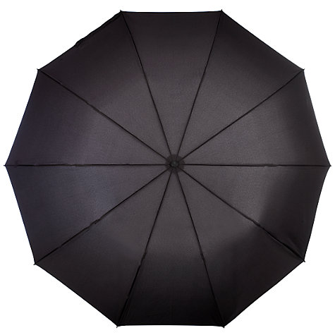 Buy Fulton Magnum Automatic Folding Umbrella, Black Online at johnlewis.com