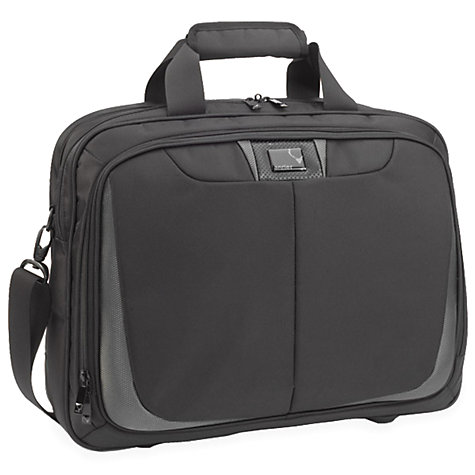 Buy Antler Execute Laptop Bag, Black Online at johnlewis.com