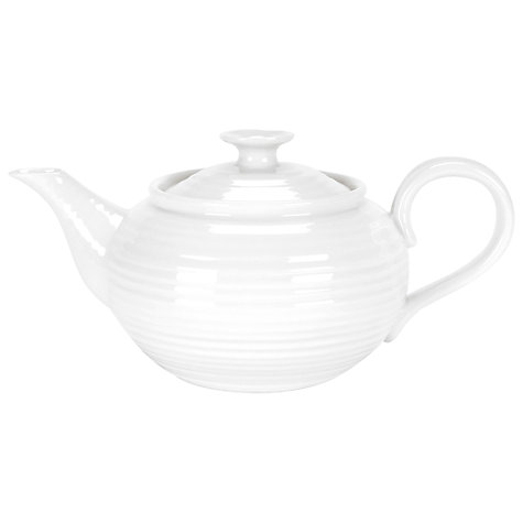 Buy Sophie Conran for Portmeirion Teapot, White, 0.6L Online at johnlewis.com