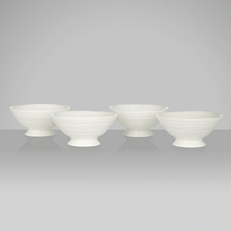 Buy Sophie Conran for Portmeirion Mini Dishes, White, Box of 4, Dia.8.5cm Online at johnlewis.com