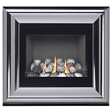 Buy Burley Flueless Gas Fire, Image 4238-R, Chrome Online at johnlewis.com