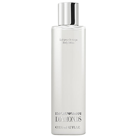 Buy Emporio Armani Diamonds Body Lotion, 200ml Online at johnlewis.com