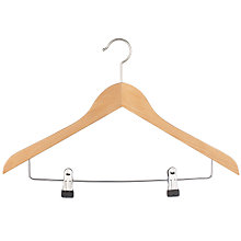 Buy John Lewis FSC Combination Hanger Online at johnlewis.com