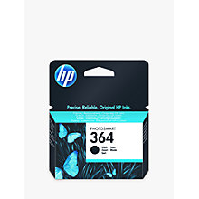 Buy HP 364 Photosmart Ink Cartridge, Standard Black, CB316EE Online at johnlewis.com