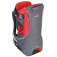 Buy LittleLife Cross Country Baby Back Carrier, Red/Charcoal Online at johnlewis.com