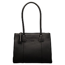 Buy O.S.P OSPREY Berlin Medium Tote Handbag, Black Online at johnlewis.com