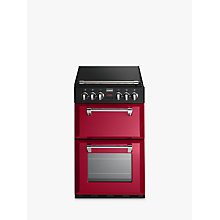 Buy Stoves Richmond 550E Electric Mini Range Cooker, Jalapeño Red Online at johnlewis.com