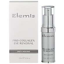 Buy Elemis Pro-Collagen Eye Renewal Cream Online at johnlewis.com
