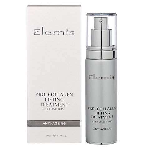 Buy Elemis Pro-Collagen Neck & Bust Lifting Treatment Online at johnlewis.com