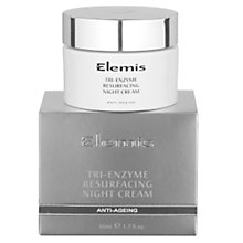 Buy Elemis Tri-Enzyme Resurfacing Night Cream Online at johnlewis.com
