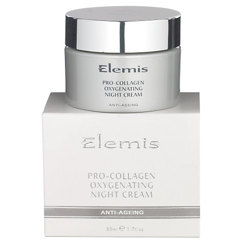 Buy Elemis Pro-Collagen Oxygenating Night Cream Online at johnlewis.com