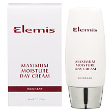 Buy Elemis Maximum Moisture Day Cream Online at johnlewis.com