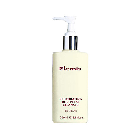 Buy Elemis Skincare Rehydrating Rosepetal Cleanser Online at johnlewis.com